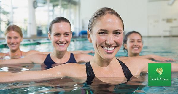 تدريبات في حوض السباحة + مساجات مائية